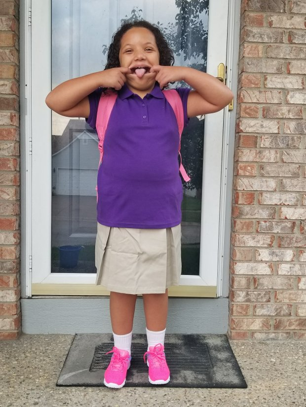 Lily going to 4th grade