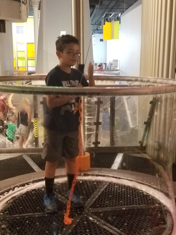 Science center bubble
