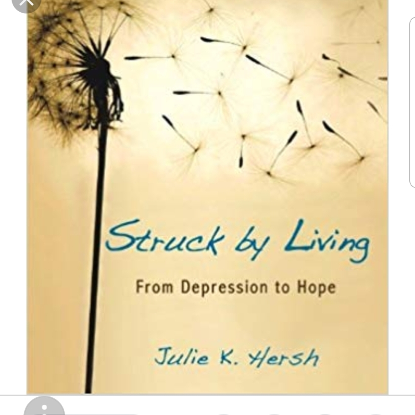 "Book review ""Struck by Living"""