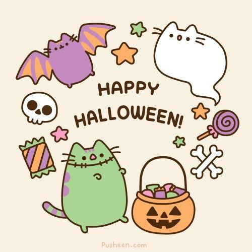 Halloween Pusheen