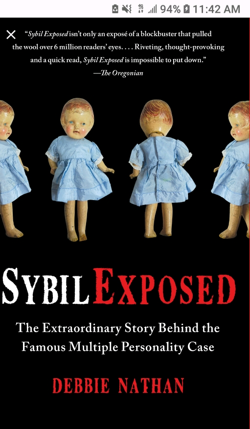 Sybil exposed book cover