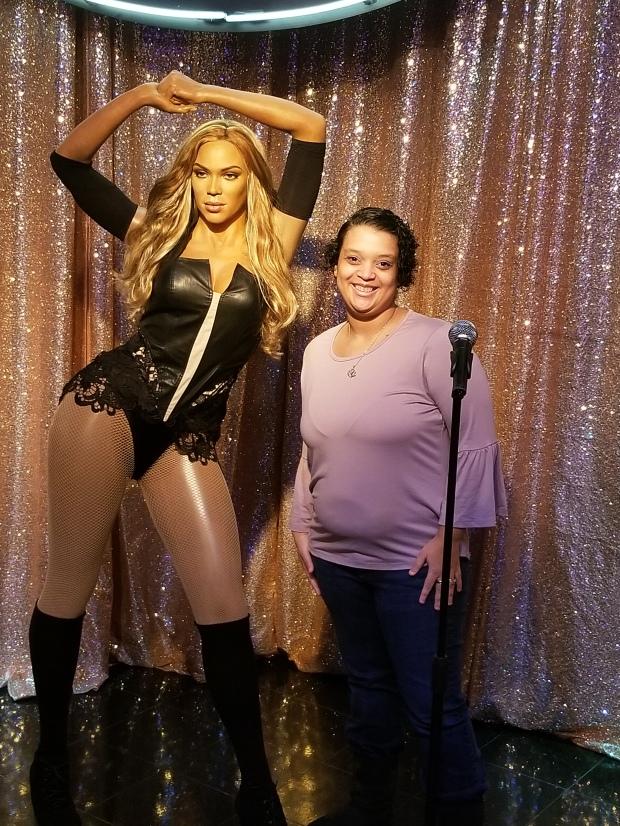 Wax figure Beyonce